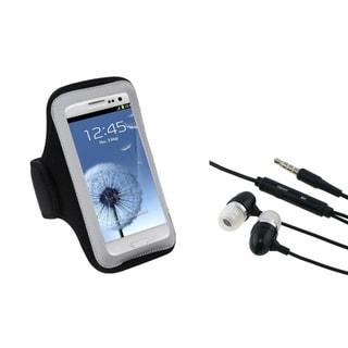 INSTEN Universal Headset/ Black Armband for Cell Phones