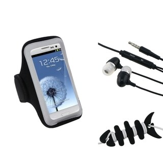INSTEN Universal Headset Smart Wrap/ Headset/ Armband for Cell Phone
