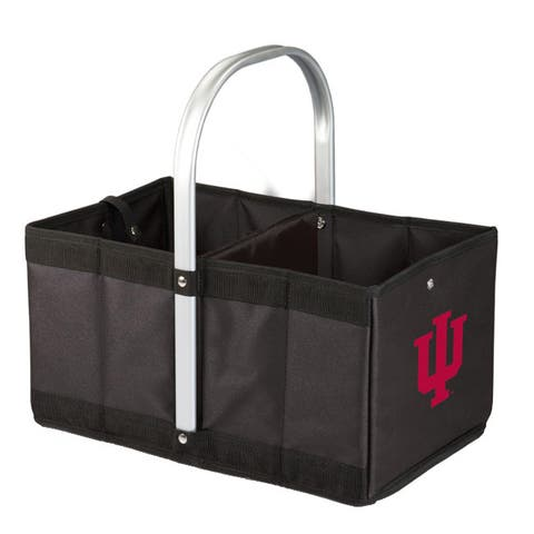 Indiana University Hoosiers Urban Basket - Black