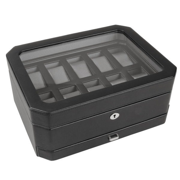 WOLF 10-piece Watch Box