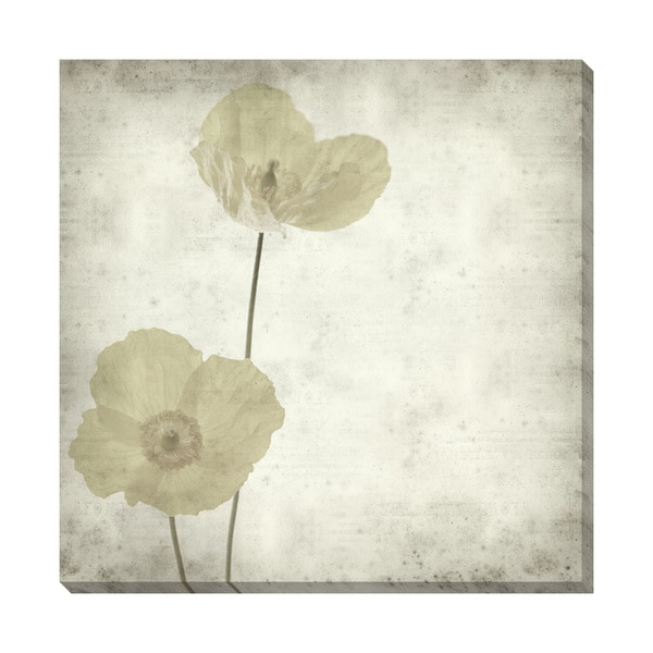 Gallery Direct Welsh Poppy III Oversized Gallery Wrapped Canvas