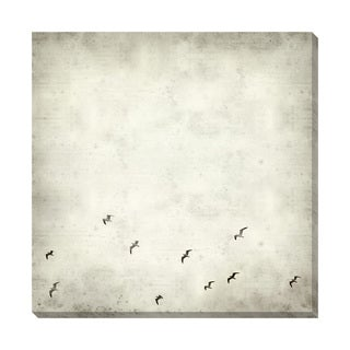Gallery Direct Fly III Black and White Oversized Gallery Wrapped Canvas