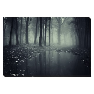 Gallery Direct Forest Fog Oversized Gallery Wrapped Canvas