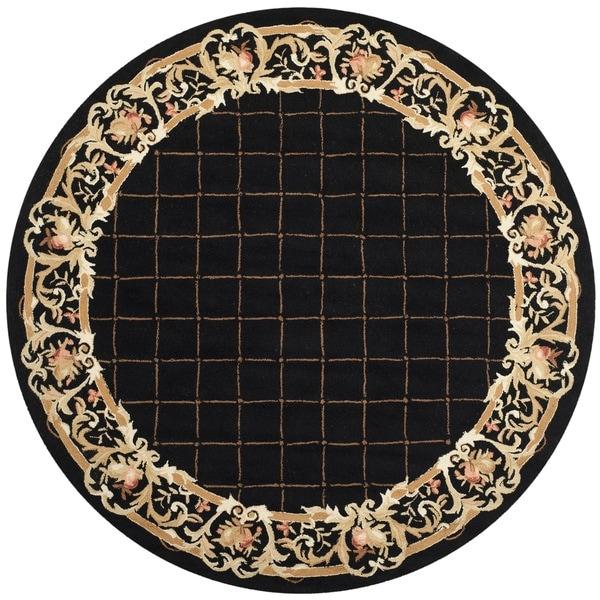Shop Safavieh Hand Hooked Chelsea Black Wool Rug 8