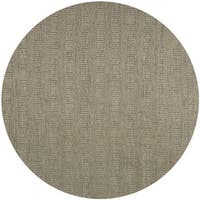 Safavieh Hand-woven Southampton Grey Polyester Rug - 7' Round