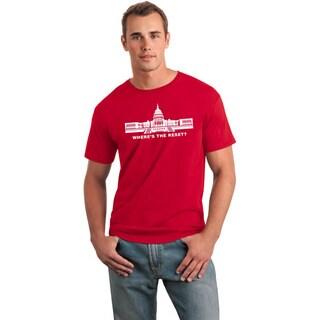 Men's Where's The Reset Congress Funny Political Shirt