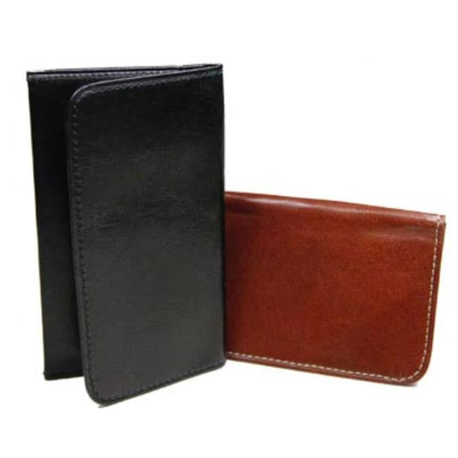 Castello Leather Slim Cover Cardholder