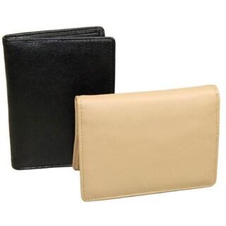 Castello Leather Zip Cardholder