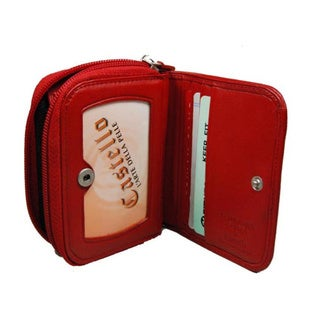 Castello Leather Compact Wallet