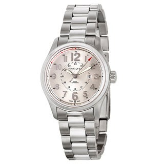 Hamilton Women's 'Khaki Field' Stainless Steel Military Time Watch