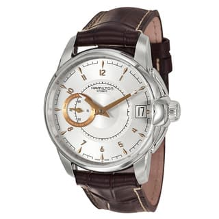 Hamilton Men's 'American Classic' Stainless Steel Swiss Automatic Watch|https://ak1.ostkcdn.com/images/products/8277996/8277996/Hamilton-Mens-American-Classic-Stainless-Steel-Swiss-Automatic-Watch-P15599133.jpg?impolicy=medium