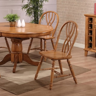 Whitaker Furniture Missouri Double x Back Dining Chairs Set (set of 2)
