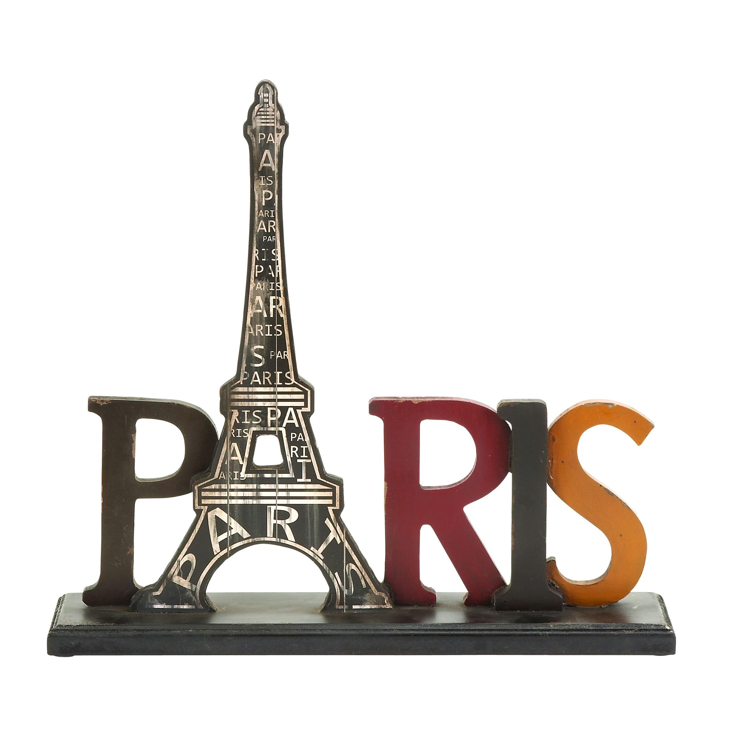 Studio 350 Iconic Eiffel Tower in Paris Table Decor (Tabl...