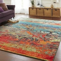 The Curated Nomad Vallejo Eroded Color Area Rug - 7'6 x 10'