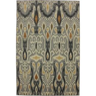 Mohawk Home Madison Dorrego Ikat Sand Beige (5'3 x 7'10)