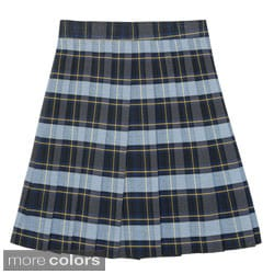 French Toast Girls Plaid Pleated Skirt