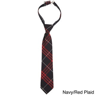 French Toast Boys 4-7 Adjustable Plaid Tie