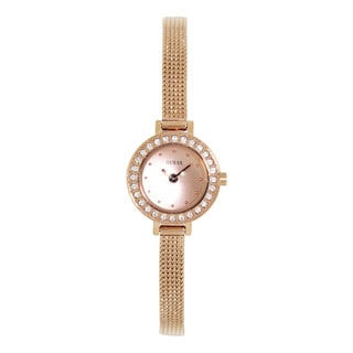 Guess Women's U0133L3 Rose Gold Stainless Steel Quartz Watch