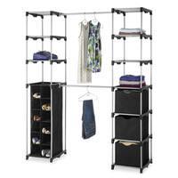 Whitmor 6779-4511 Double Rod Closet Organizer
