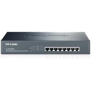 TP-LINK TL-SG1008PE 8-Port Giagbit PoE Switch, 8 POE ports, IEEE 802.