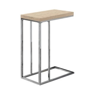 Chrome Metal Accent Table