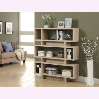 Natural Reclaimed-look Modern Bookcase
