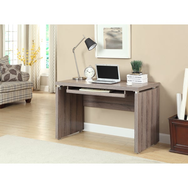 Shop Reclaimed Look Dark Taupe 48 Inch Computer Desk