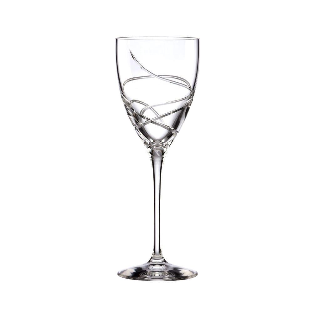 Lenox Adorn Signature Crystal Wine Glass, Clear