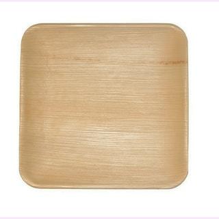Leaf & Fiber's Compostable Palm Leaf Plates - Square (Pack of 100)