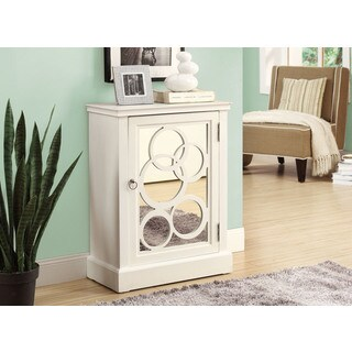 White Contemporary Bombay Chest