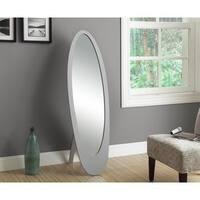 Contemporary Oval Cheval Mirror