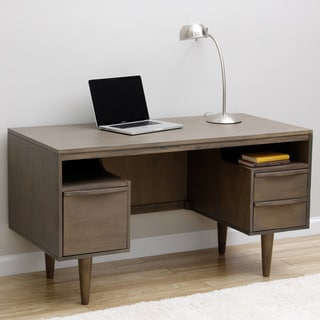 Shop Sterling Antique Charcoal Desk Free Shipping Today