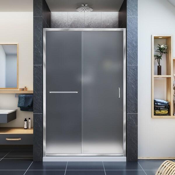 Shop Dreamline Infinity Z Frameless Sliding Shower Door