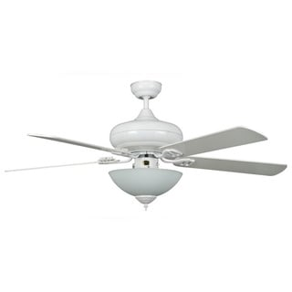 3-light 5-blade Bowl Light Ceiling Fan