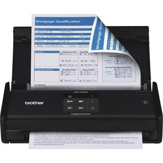 Brother ImageCenter ADS-1000W Compact - Color - Desktop Scanne