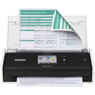 Brother ImageCenter ADS-1500W Document Scanner - Duplex - Colo