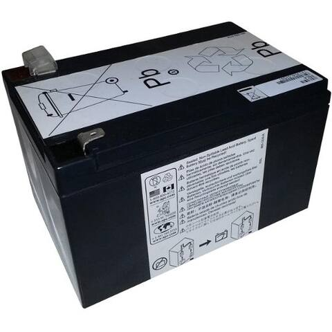 eReplacements Compatible Sealed Lead Acid Battery Replaces APC UB12120-F2, UPG D5775