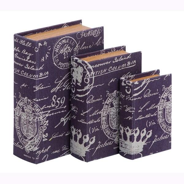 Book Box Set With Paris Lifestyle Theme (Set of 3)