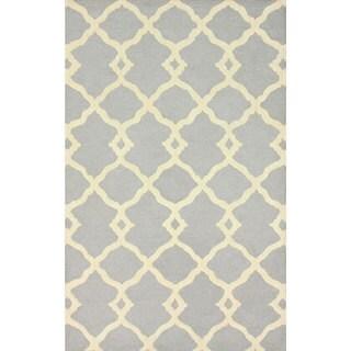 nuLOOM Handmade Moroccan Trellis Wool Rug (8'3 x 11')