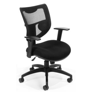 OFM Executive Black Mesh Contemporary Office Chair
