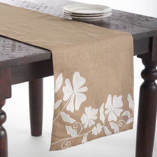 Shop Dori Design Jute Table Runner Free Shipping On