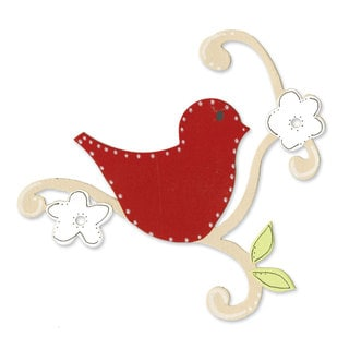 Sizzix Bigz Die Bird with Vine by Dena Designs