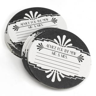 HBH 'Advice for the New Mr. and Mrs.' Art Deco Coasters