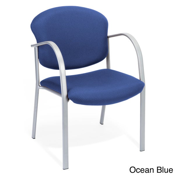 OFM 414-63 Reception Chair with Arms - Fabric Guest Chair