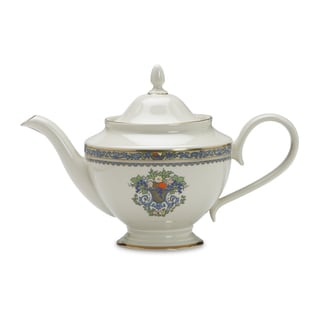 Lenox 40-ounce Bone China Autumn Teapot