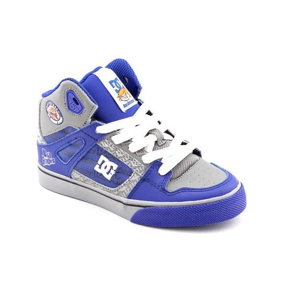 DC Boy (Youth) 'Spartan Hi WG' Leather Athletic Shoe