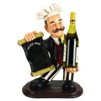 Studio 350 PS Chef Wine Holder 20 inches high, 13 inches wide