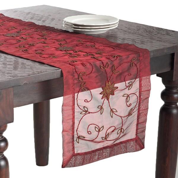 Shop Handmade Beaded Table Runner On Sale Free