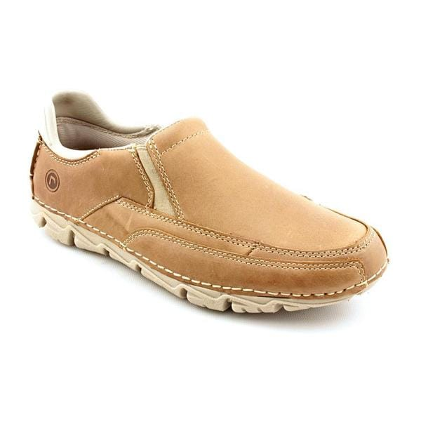 Rockport Men's 'Rocsports Lite Slip On' Full-Grain Leather Casual Shoes