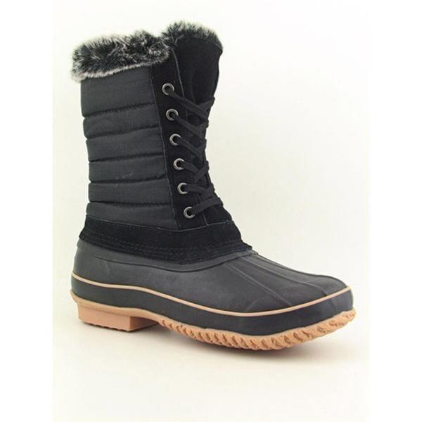 Khombu Women's 'Boston Bean' Basic Textile Boots